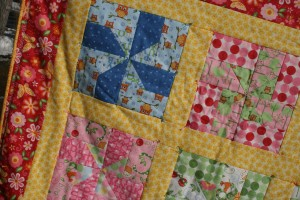 Deatil of quilt blocks