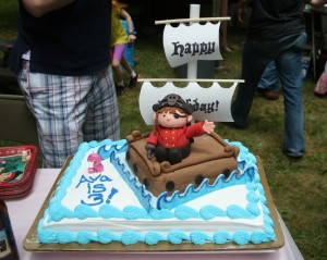 Finished Pirate Cake