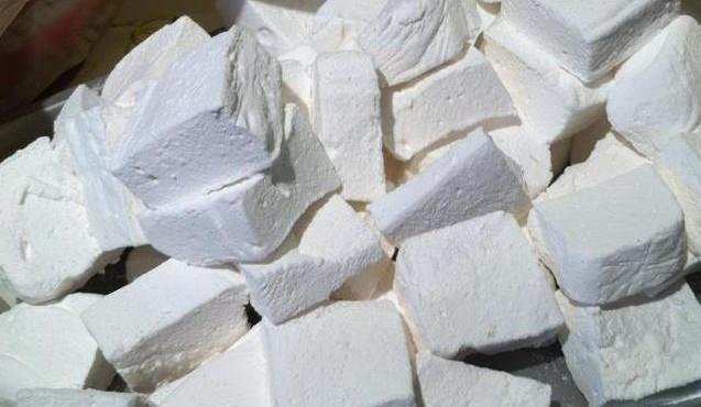 Marshmallow pile
